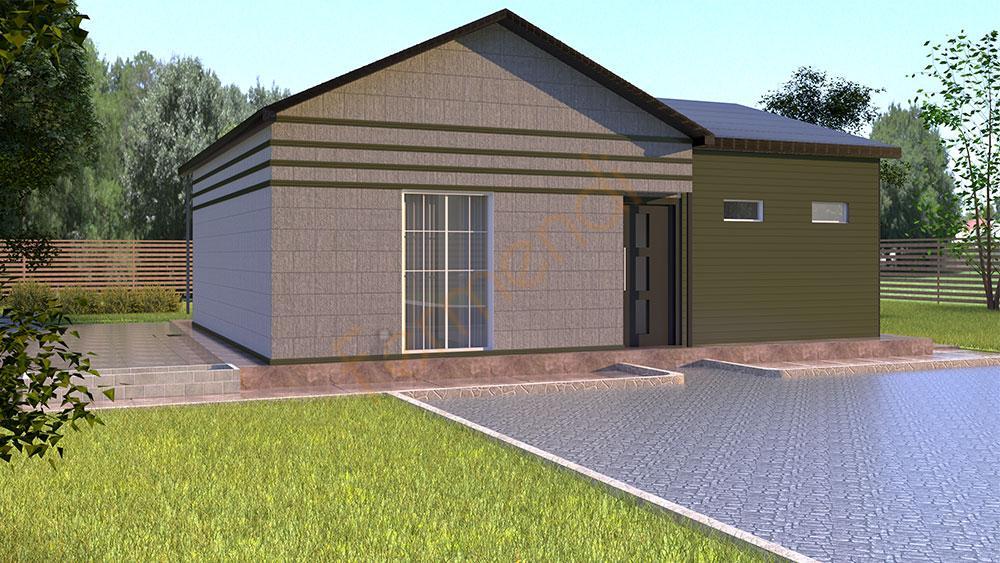 F80 Prefabricated House