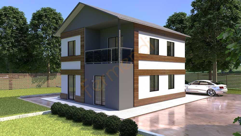 FD120 Prefabricated House