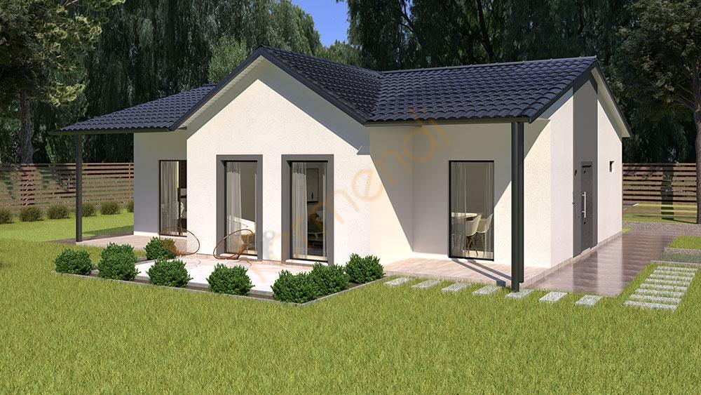F107 Prefabricated House